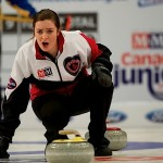 2015 Corner Brook Nfld, M&M Meat Shops Canadian Jr.Curling Championship, Ontario skip Chelsea Brandwood, CCA/michael burns photo