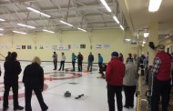 Muskoka Clinic Team Visits Curling Club of Collingwood