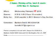 BCC Lucky 13 Leads and Seconds Bonspiel - Women