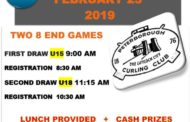 U15/ U18 Cash Spiel - Youth