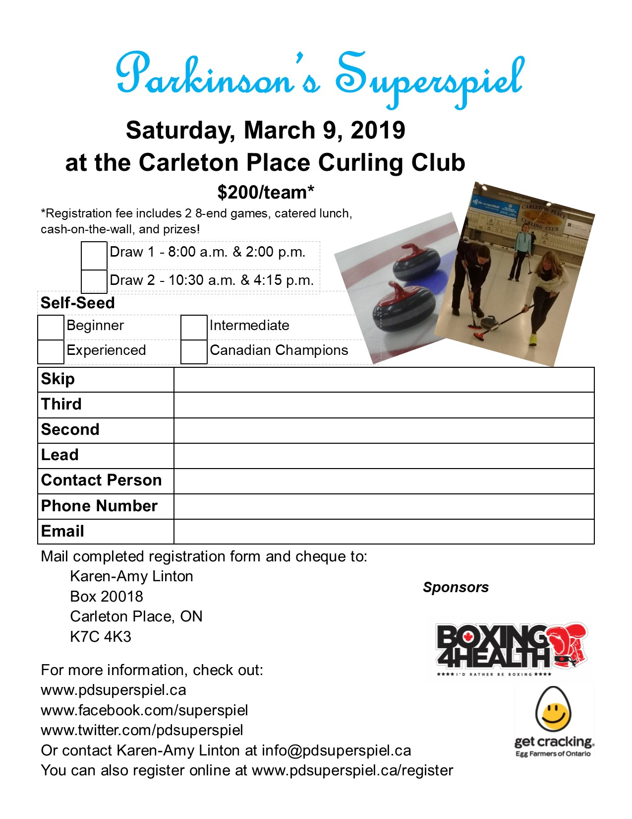 Parkinson's Superspiel – Open, Doubles