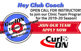 CurlON Issues Open Call for 2019-20 Clinic Team Program Instructors