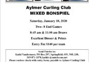 Aylmer Mixed Bonspiel